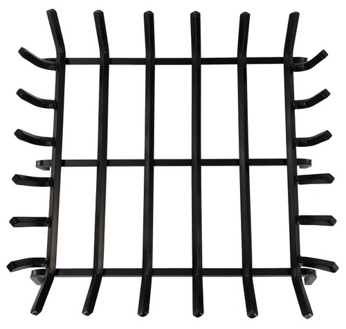 Ramussen Custom Double Face Square Grate top down view