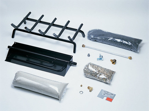 FXH Burner and Grate Included parts