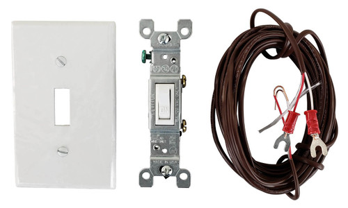 Wired Wall Switch for Rasmussen Gas Log Sets, WS-1