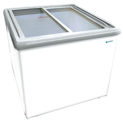 This dual freezer and cooler will allow you to display both ice cream products or beverages directly at the register for increased profits. YOU decide what you want to display! POP Display at its finest! Impulse display of Ice cream or beverage display all at once.