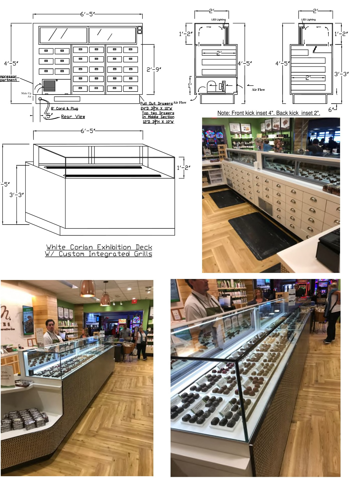 coldcore inc. helps with planning your bakery or candy store