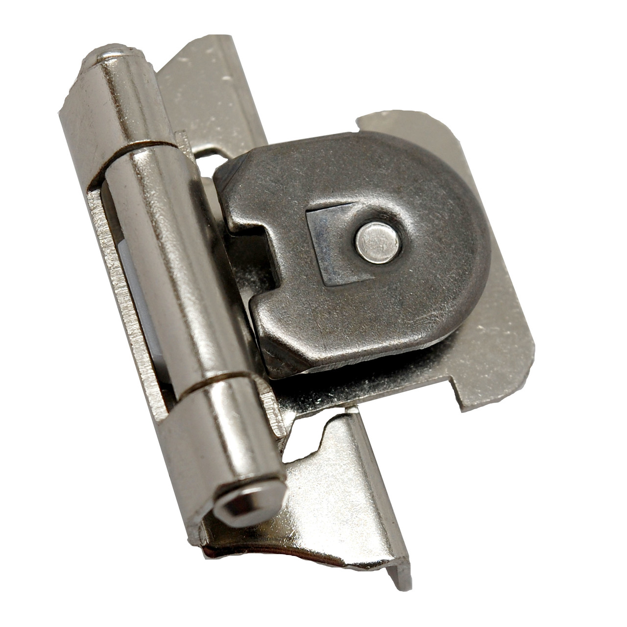 Amerock Nickel 1 4 Semi Wrap Single Demountable Hinge The Knob Shop