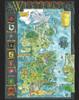 """Klaradox Map - 11"""" X 14"""" Metal Art Print"""