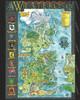"""Klaradox Map - 24"""" X 36"""""""" Metal Art Print"""