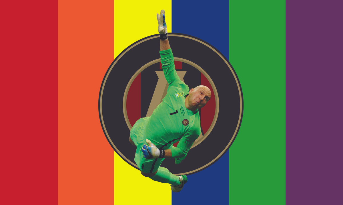Superman Keeper Flag - Rainbow