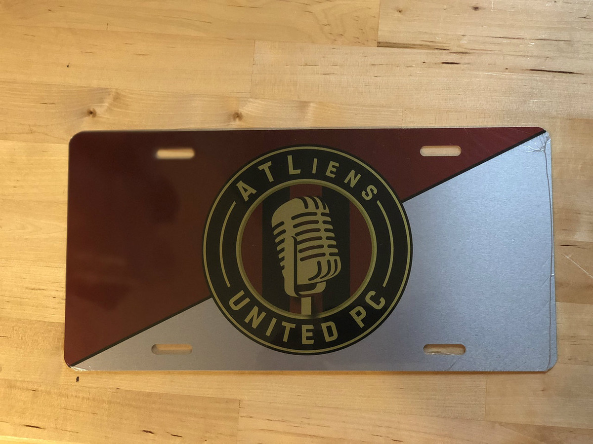 ATLiens Podcast License Plate