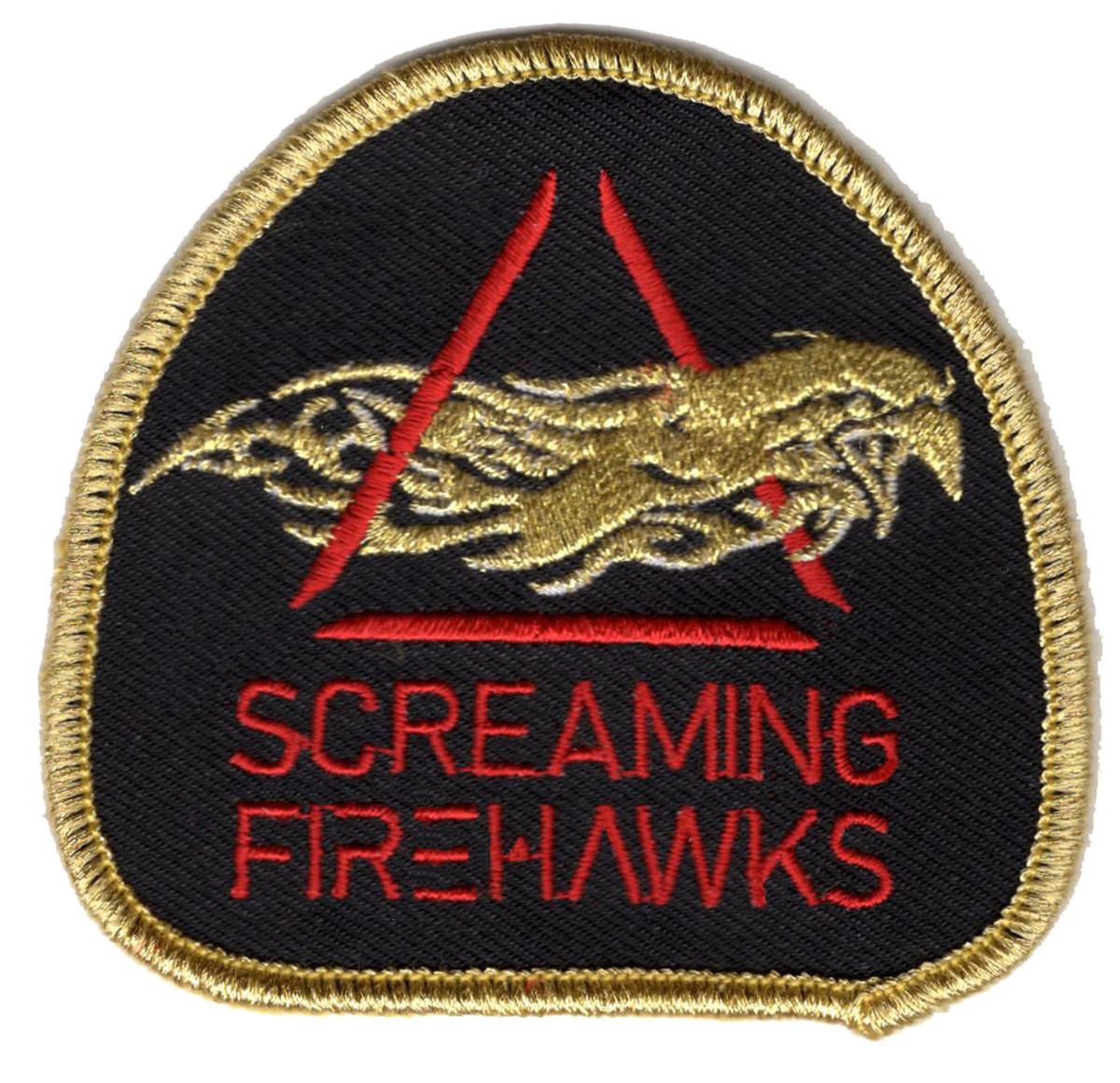 Screaming Firehawks Patch