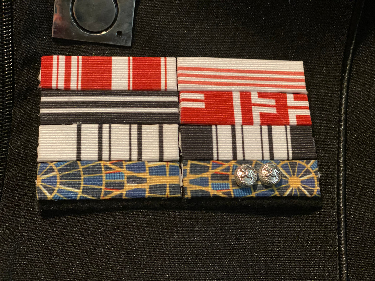 Admiral Ribbon Rack - MCRN