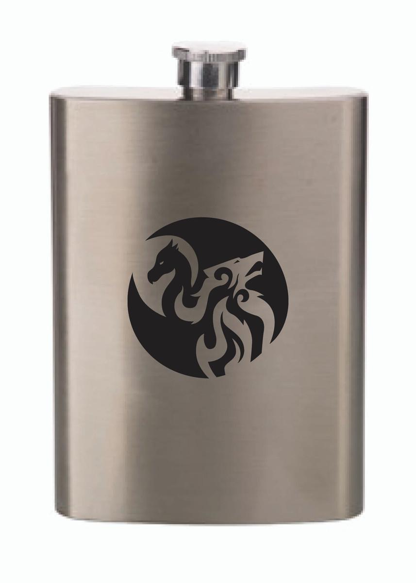 IAFC Metal Flask
