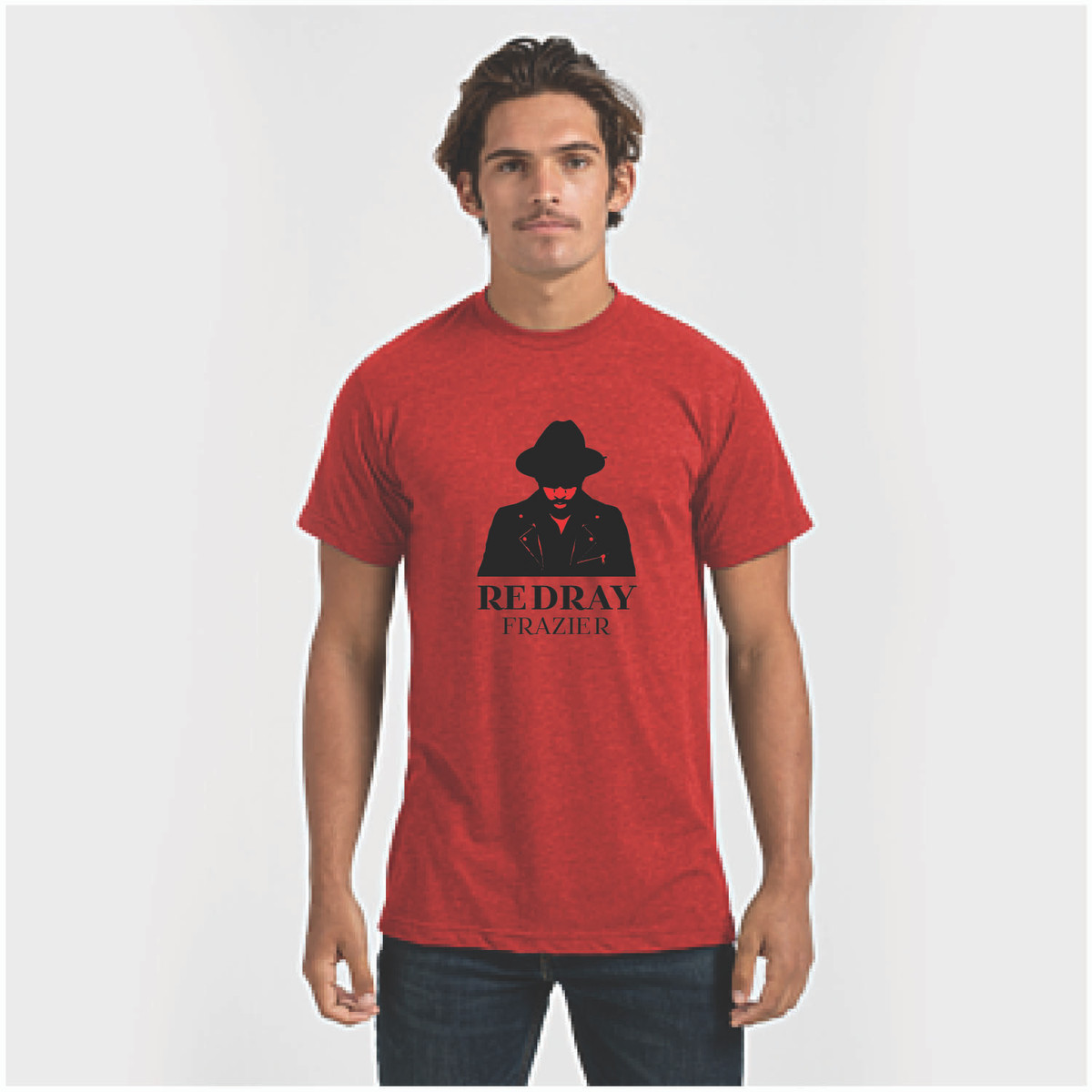 RedRay Frazier Tee - Heather Red