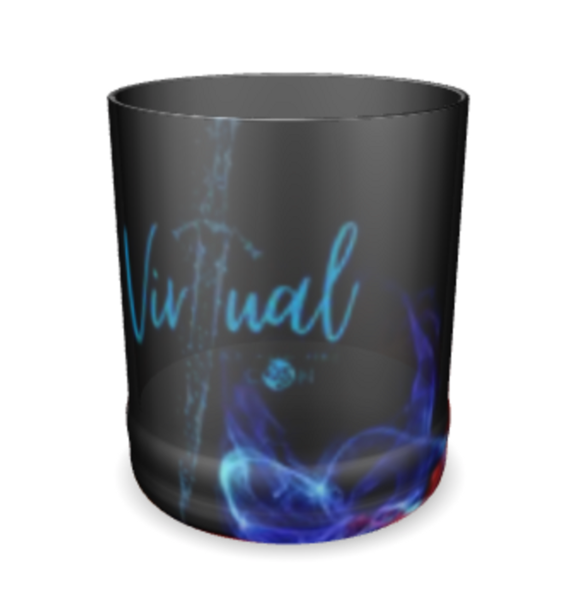Virtual Ice and Fire Con Whiskey Glass