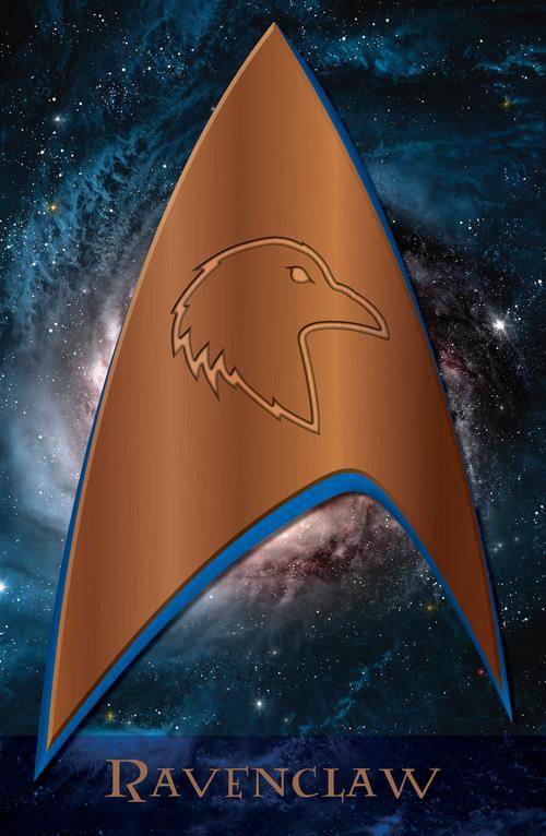 Trek Potter Poster - Ravenclaw