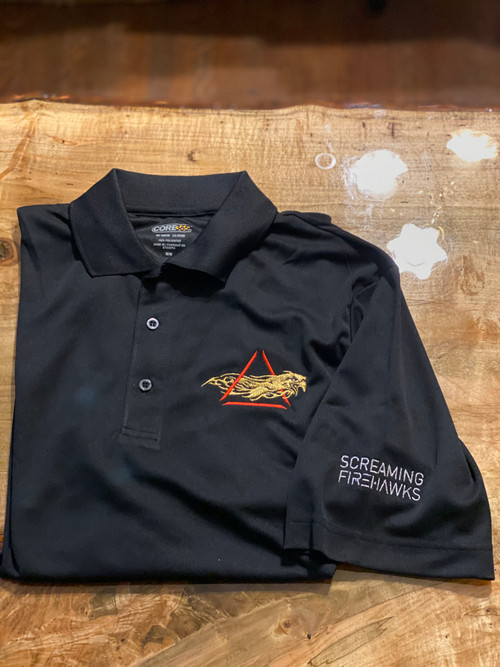 Screaming Firehawks Polo