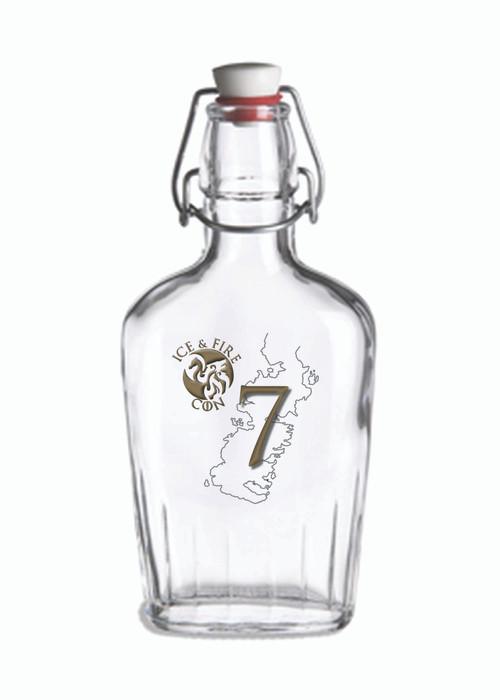 IAFC Glass Flask