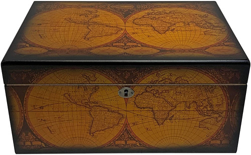 The Old World  Cigar Humidor