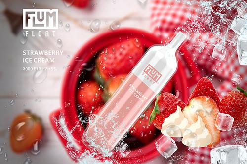 Flum Float Strawberry Icecream