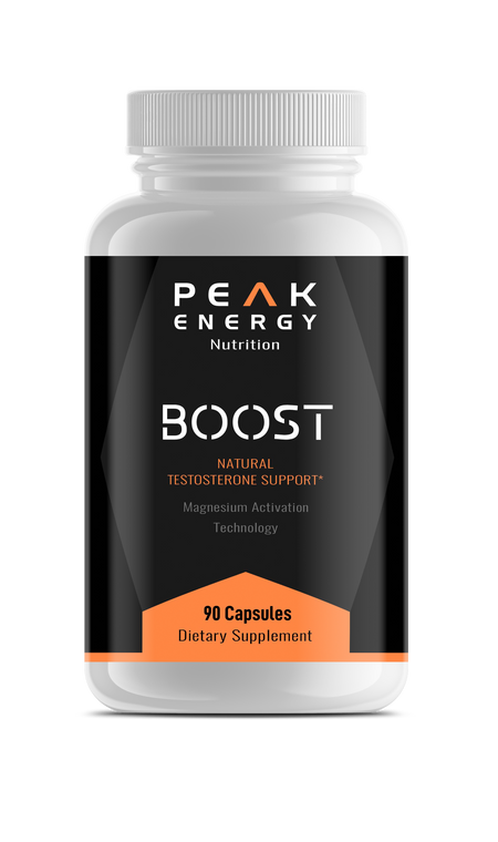 Boost: Natural Testosterone Support with Magnesium Technology Activation