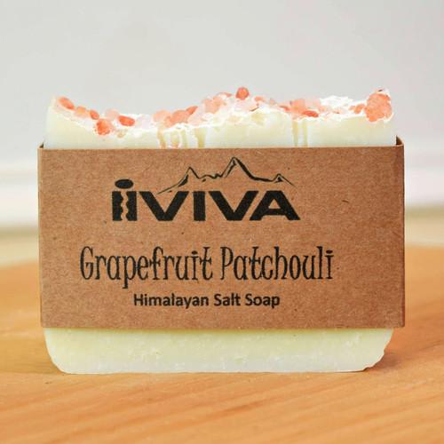 Grapefruit Patchouli Salt Soap