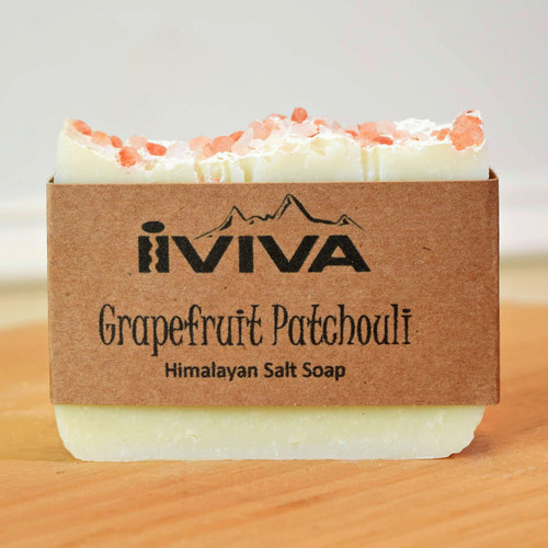 Grapefruit Patchouli Salt Soap