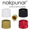 Nakpunar Tamper Evident 28TE caps for flask liquor bottles