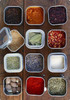 Spice filled Nakpunar 8 oz Square Deep Container Tins