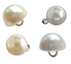 Pearl Bridal Buttons