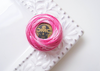 DMC Pearl Cotton Enbroidery Thread Balls Size 8 - 48 Variegated Baby Pink