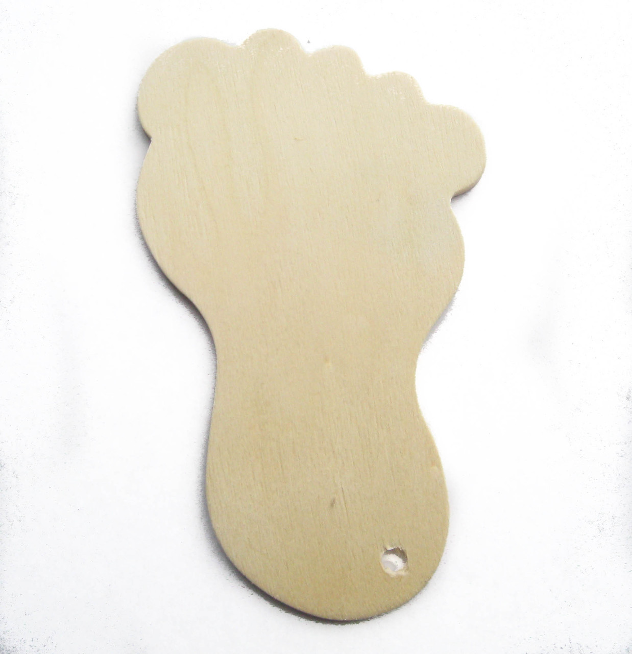 baby, foot, footstep, wood tag, wooden tag, gift, cutout, birch, birth, baptism, ornament, nakpunar