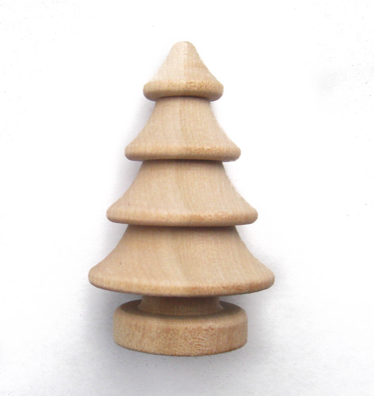 3d wooden tree, unfinished wood, wood Christmas tree, art and craft part supplies by nakpunar