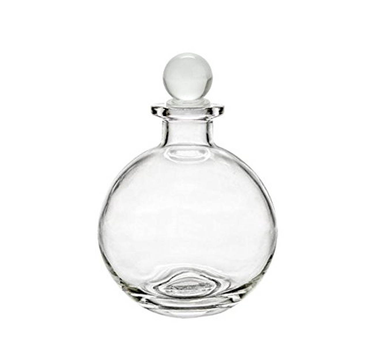 Nakpunar Spherical Glass Bottle with Glass Bottle Stopper