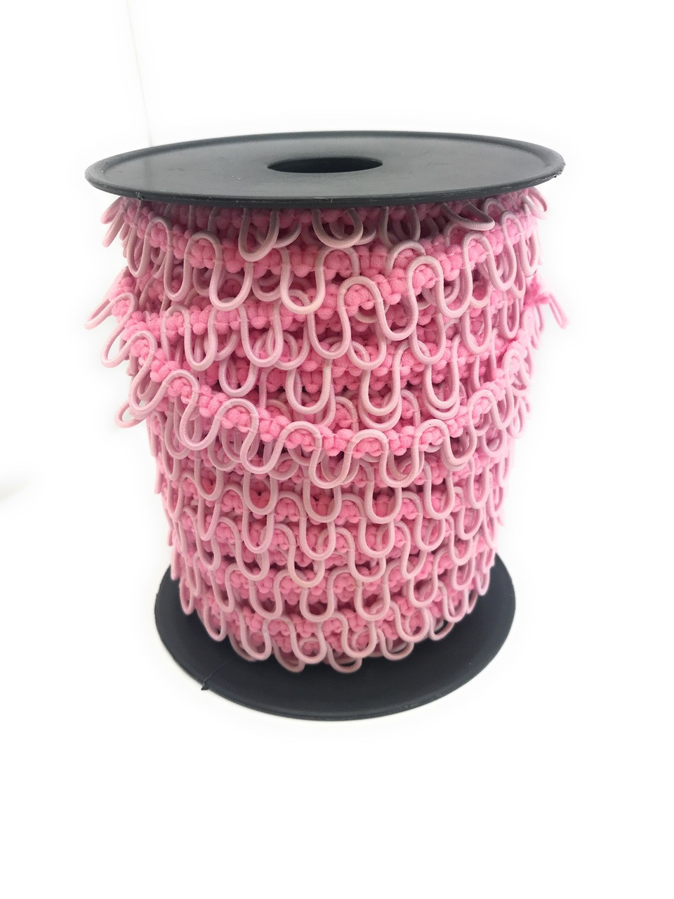 Baby Pink Adjacent Elastic Bridal Button Loops