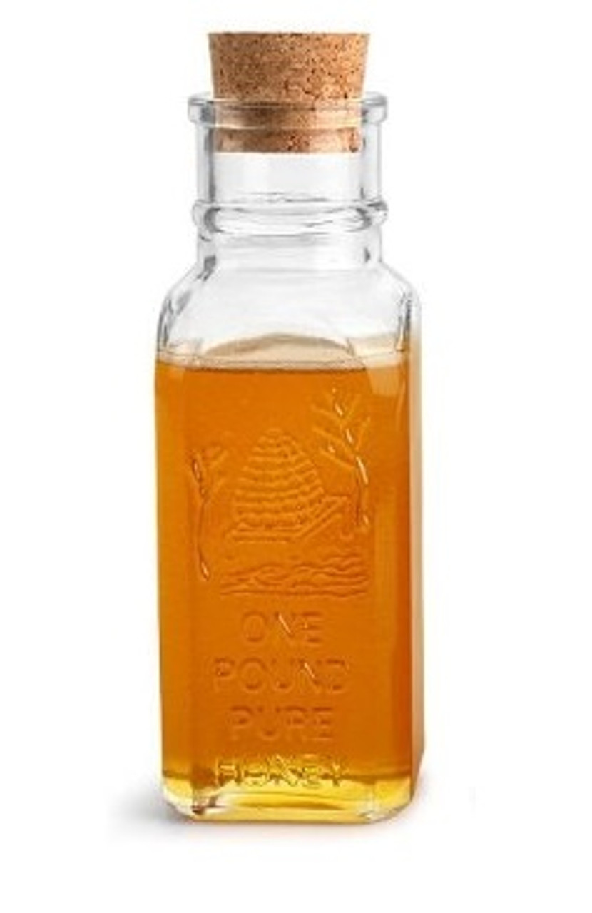 16 oz Muth Style Honey Bottle with Cork