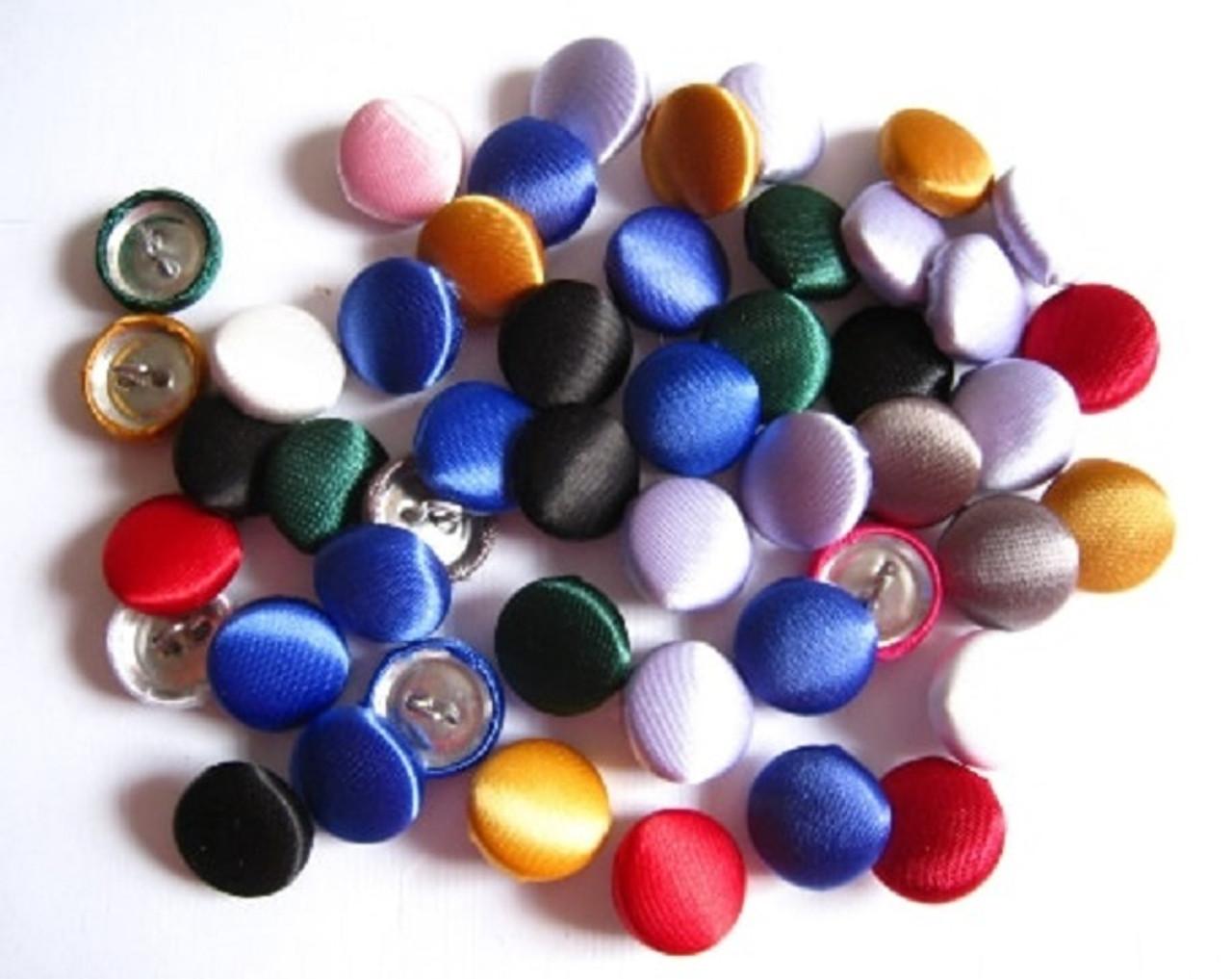 Satin Bridal Buttons