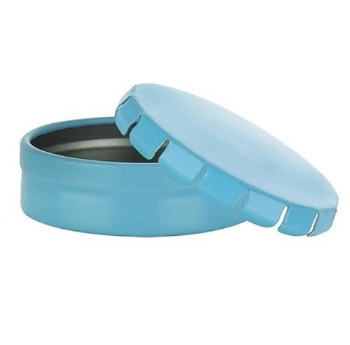 20 ml blue tin container