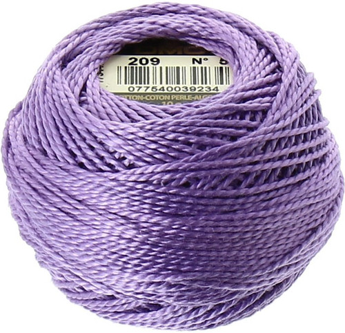 DMC #5 Perle Cotton Thread | 209 Dark Lavender (116 5-209)