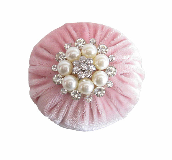 "2"" Baby Pink Emery Pincushion"