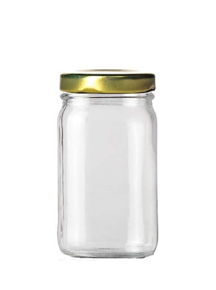 8 oz Paragon Glass Jar with Twist Lug Lid
