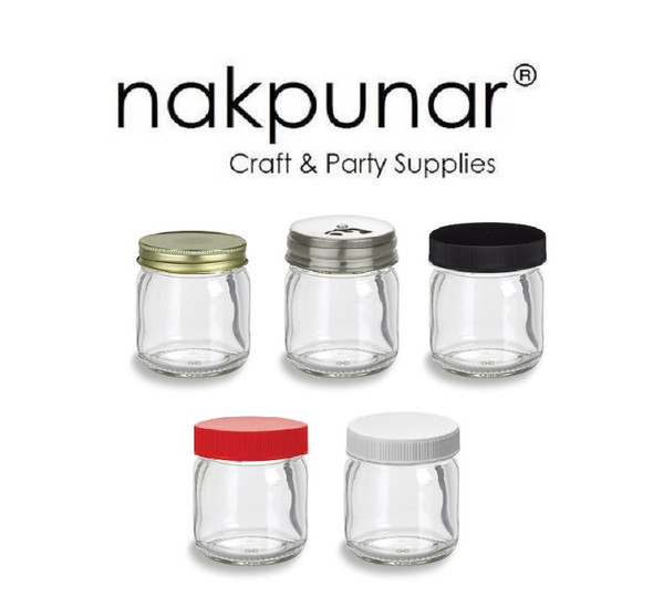 Nakpunar 1.5 oz glass jars for sale with retail and wholesale prices.