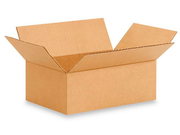 9x6x3 inches Corrugated Shipping Boxes 32CT