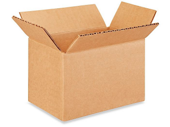 6x4x4 inches Heavy Duty Corrugated Shipping Boxes