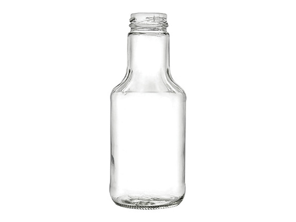 14.5 oz Glass Sauce Bottle with 38TW Plastisol Lined Lid
