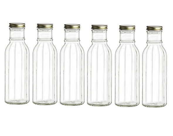 12 oz beveled bottles