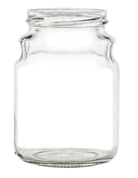 12 oz Tureen Glass Jar with Lid