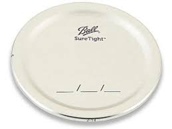 12 pcs Ball Wide Mouth Jar Lids - Discs only