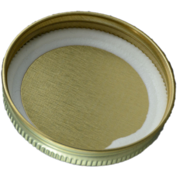 Continious Metal Lid with Plastisol Liner - Sampler