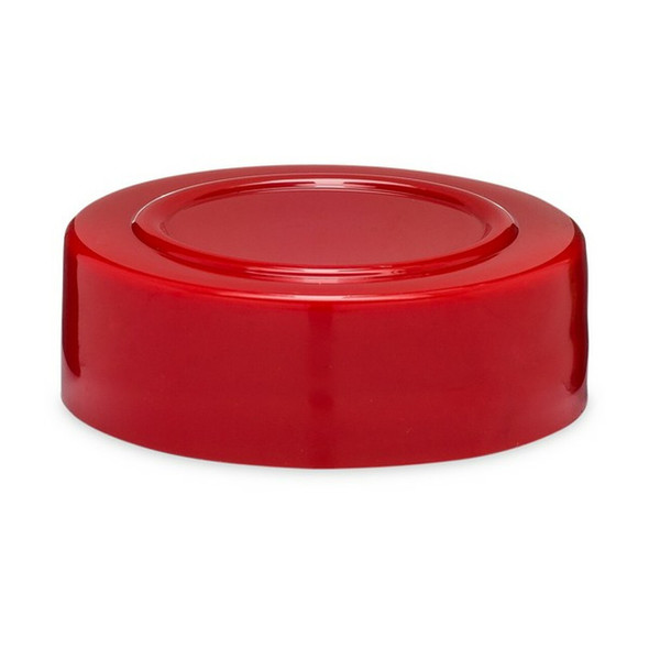 43-485 Red Plastic Spice Caps with Stacking Ring