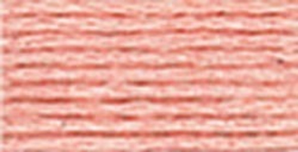 DMC 353 - Peach Pink - Perle Cotton Thread Size 8
