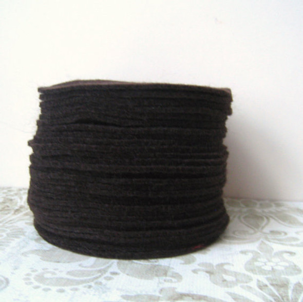 Dark Brown Felt Circles