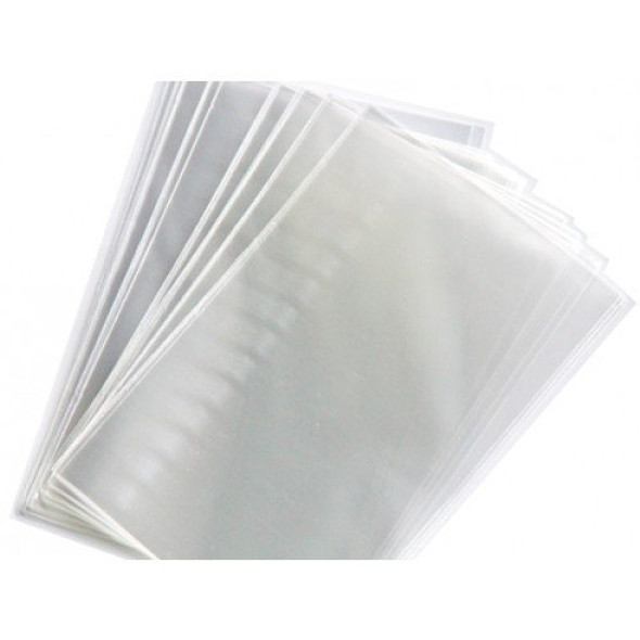 """100 pcs, 4""""x6"""", 1.5 Mil Flat Clear Poly Bags - Crystal Clear Bags, Cello, heat seal"""