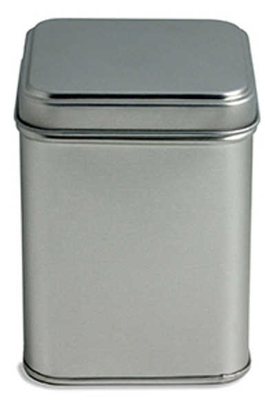 Tin Tea with slip on Lids